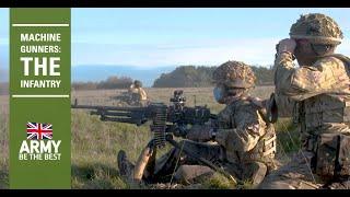 Machine Gunners | The Infantry | British Army