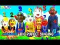 AMAZING BIG PUPPET SINGING 💚 Bong Bong Song