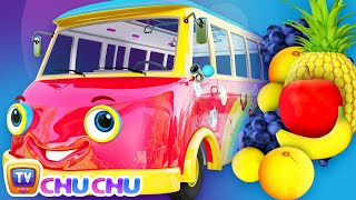 Color Song - The Wheels On The Bus - ChuChu TV Nursery Rhymes & Kids Songs