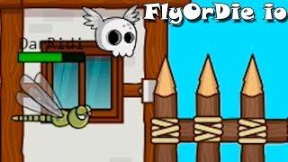 Эволючия Насекомых и животных! FlyOrDie io Новая io Игра