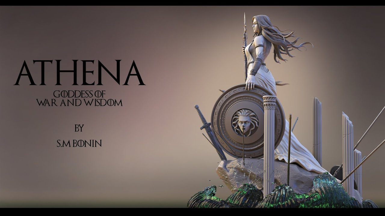 Download Athena Goddess of war and wisdom