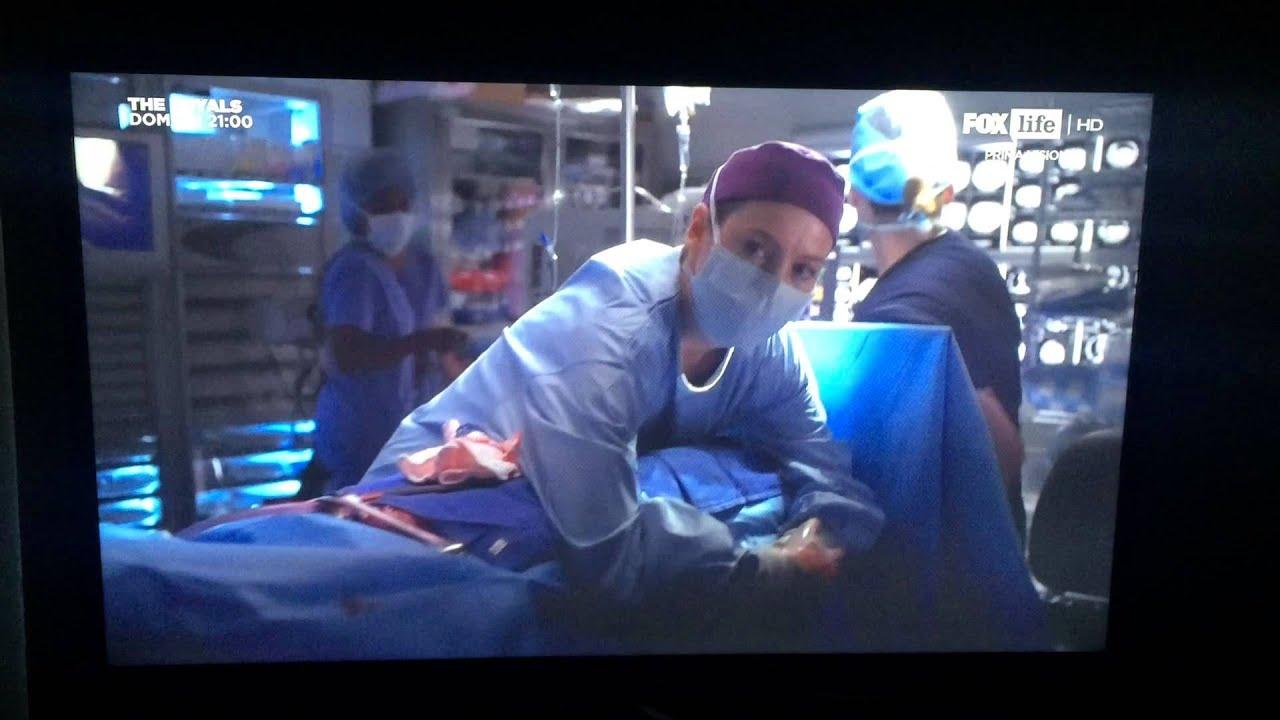 Grey\'s Anatomy 11x15 Earthquake (ITA) - YouTube