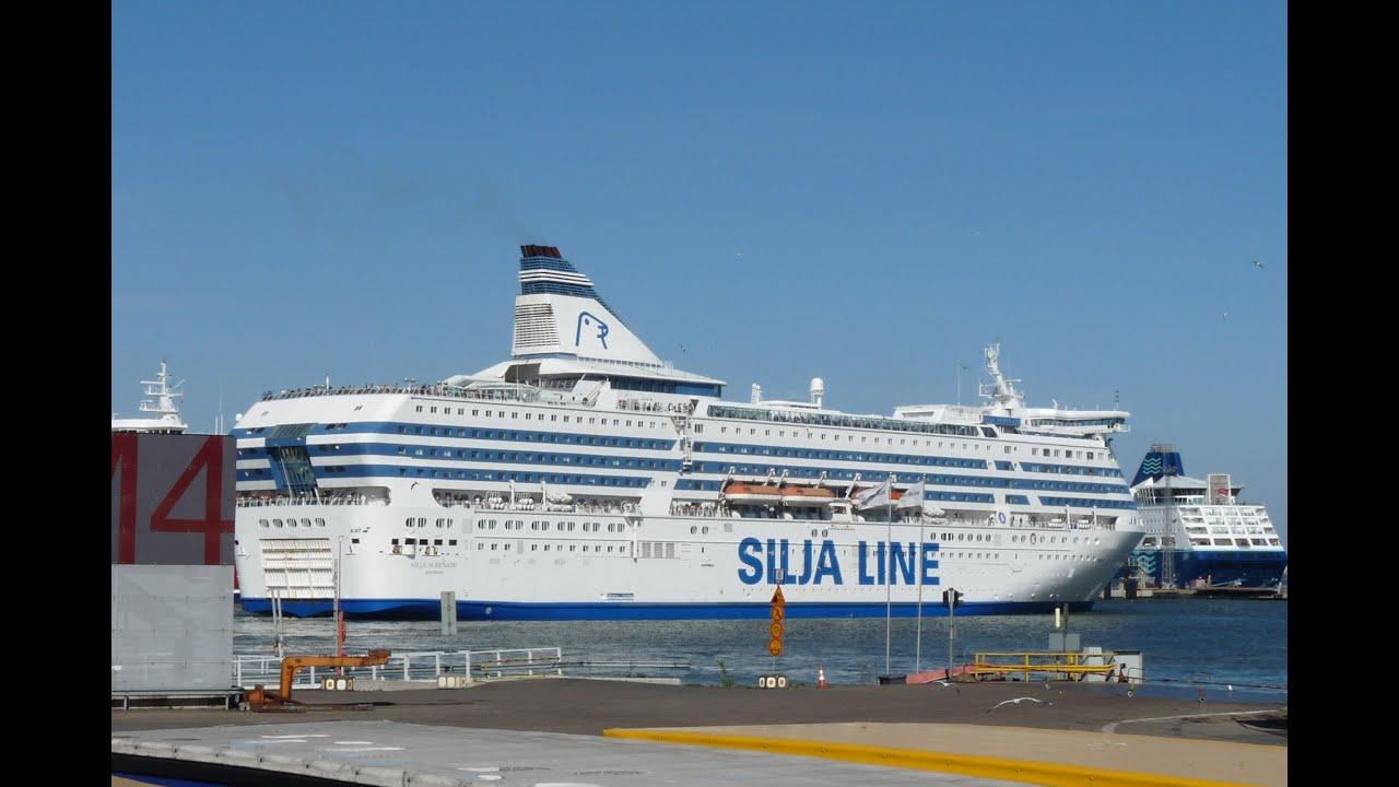 Silja-Line Ferry Silja-Serenade - YouTube