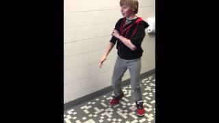 Steven and Tyler slap boxing
