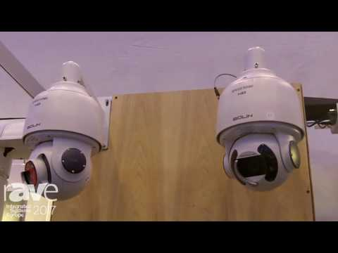 ISE 2017: Bolin Technology High Speed PTZ Dome Camera
