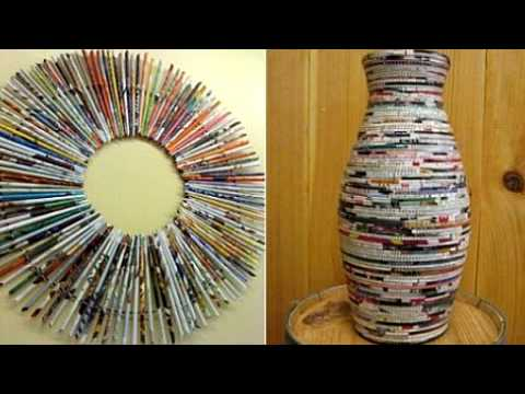 Lifestyle Deco Recycling Bahan Bahan Buangan Untuk Dijadikan Hiasan Rumah Pt 1 Kampusam Youtube
