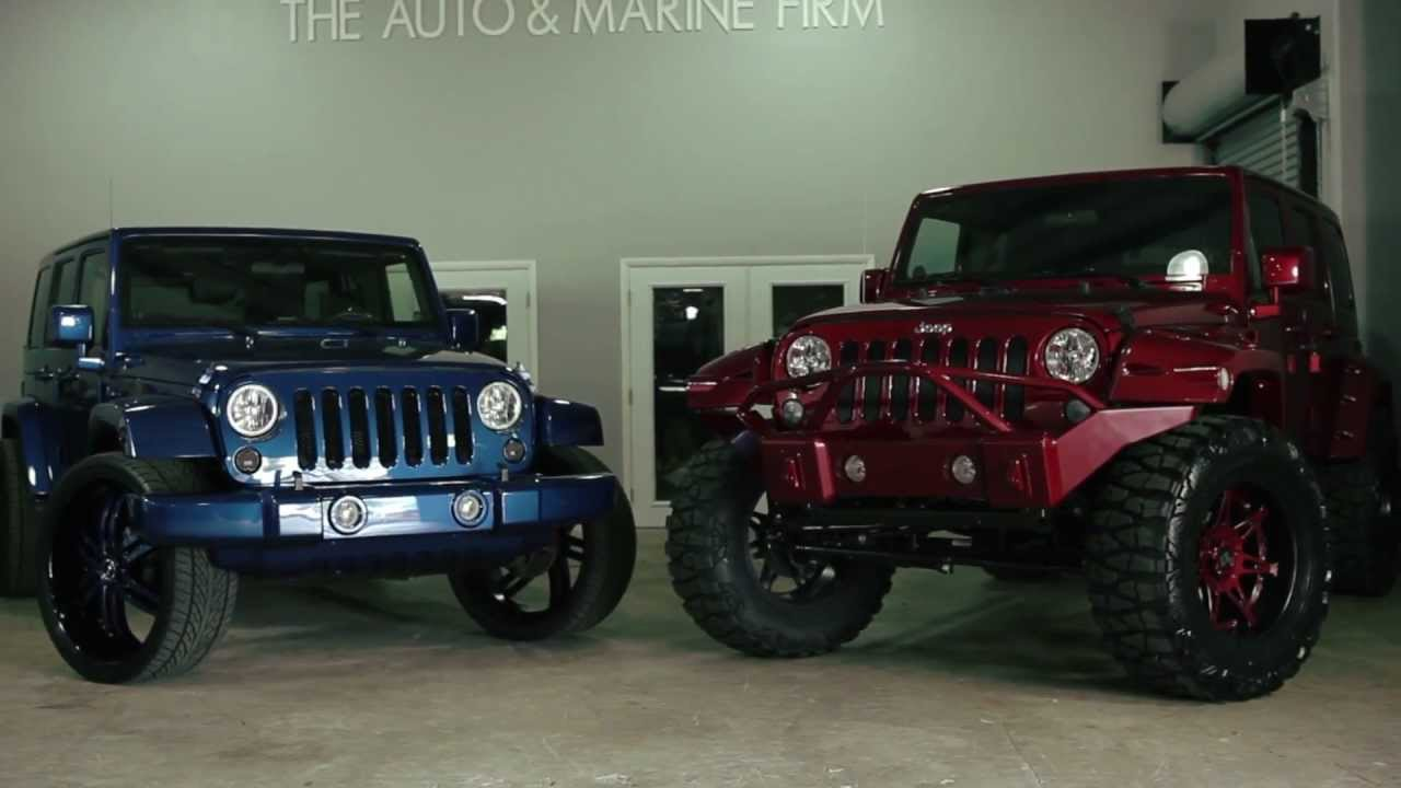 Blacked Out Jeep >> Jeep Wrangler Unlimited Street vs Offroad - The Auto Firm by Alex Vega - YouTube