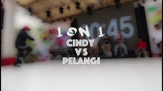 IOXC 2018 | FINAL CINDY VS PELANGI | BGIRL BATTLE 1ON1
