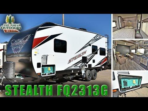 2017 FOREST RIVER STEALTH FQ2313G ST203 Toy Hauler RV Dealer Colorado
