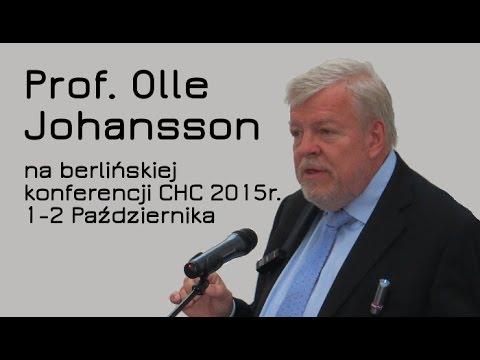 Prof. Olle Johansson podczas konferencji Covert Harassment Conference, Berlin 2015 [napisy PL]