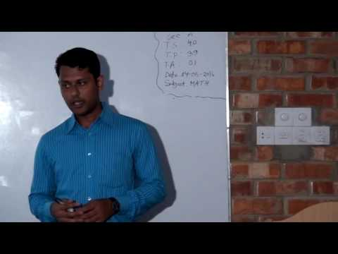 A Clip of Mathematics Lecture 01