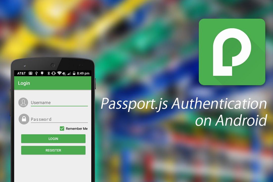 Passport js Authentication on Android using MobilePassport