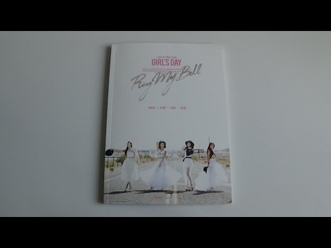 Unboxing Girl's Day 걸스데이 2nd Studio Album Love (Group Version)