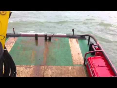 Sea Echo, Anchor handeling 5 tons