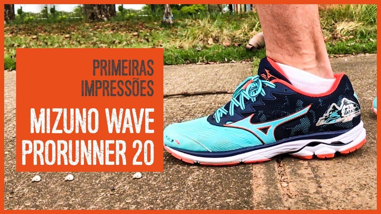 54bb1dc6472b6 Primeiras impressões  Mizuno Wave Prorunner 20 - Série Uphill - YouTube