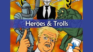 "Heroes & Trolls (Parody of ""Allstar"" by Smash Mouth) ~ Rucka R…"