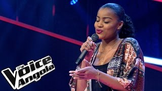 "Winny Guerra - ""Wrecking Ball"" / The Voice Angola 2015: Audição Cega"