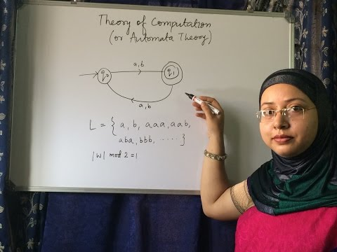 THEORY OF COMPUTATION,OR  AUTOMATA THEORY ( INTRODUCTION TO AUTOMATA) LEC - 1