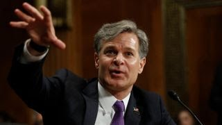 Senators pressed Wray to declare his independence from Trump
