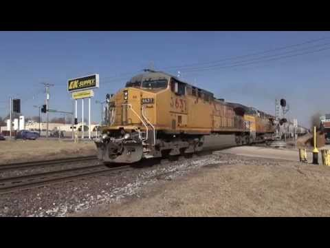 Trains on the UP Jefferson City Sub Part 2