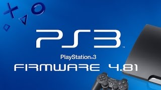 News on PS3 Version: 4.81
