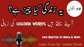18 Best And Inspirational Life Quotes In Urdu And Hindi | Urdu Quotes