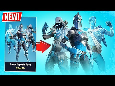 Fortnite *NEW* Frozen Legends Pack!! // Pro Fortnite Player // Fortnite Live Gameplay