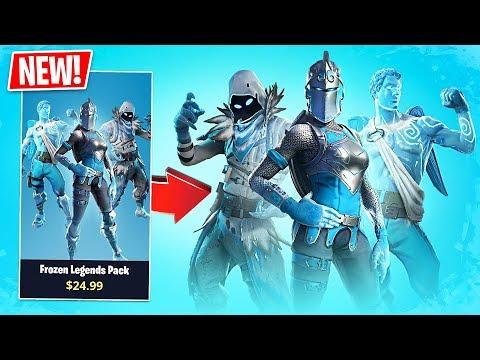 Fortnite *NEW* Frozen Legends Pack!! // Pro Fortnite Player // Fortnite Live Gameplay