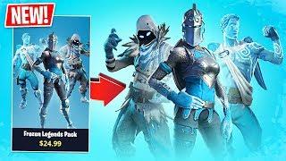 Fortnite *NUEVO* Frozen Legends Pack!! Pro Fortnite Player // Fortnite Live Gameplay