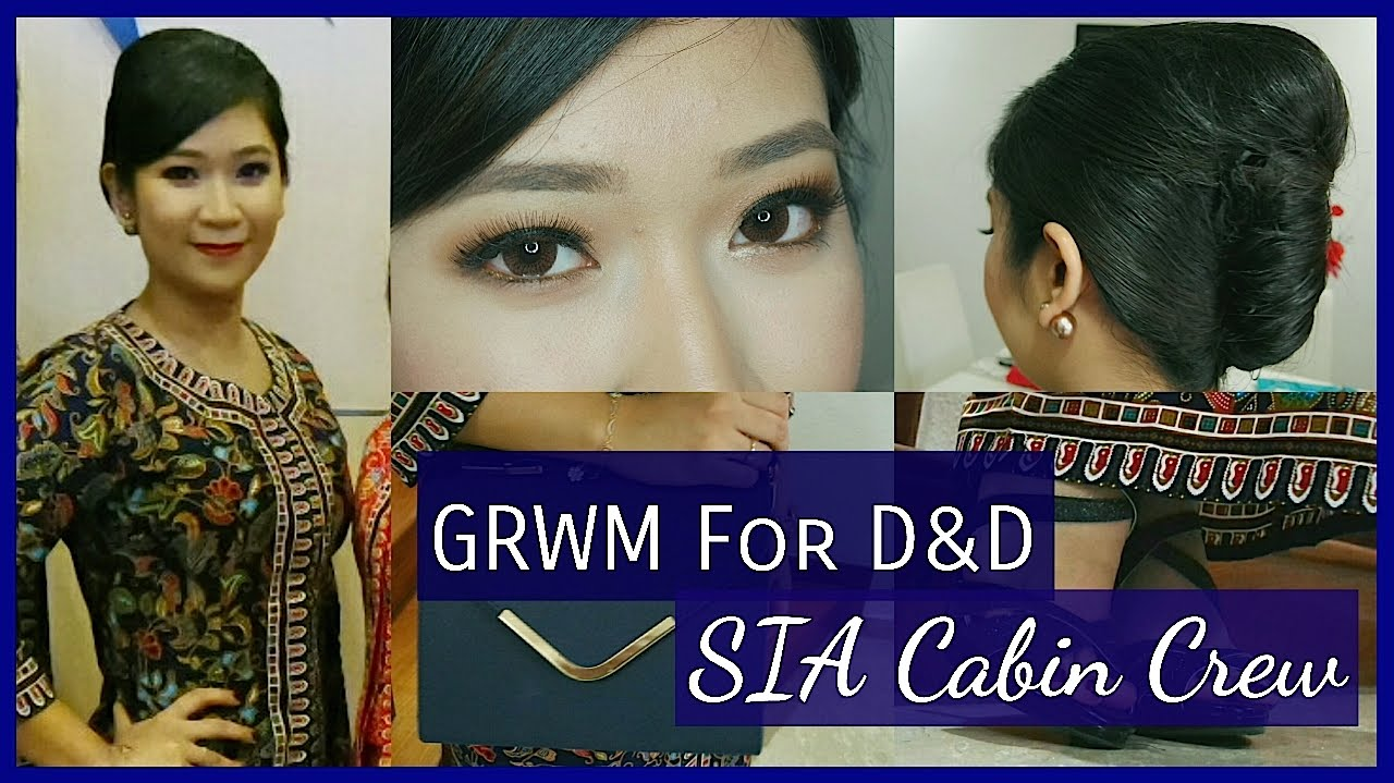grwm for dinner & dance | sia cabin crew | dygans90 - youtube