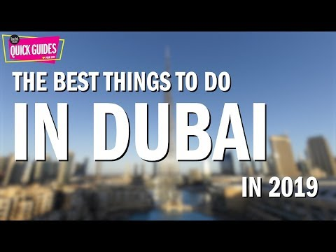 Ten of Dubai's best things to do in 2019 (from the human slingshot to XLine)!