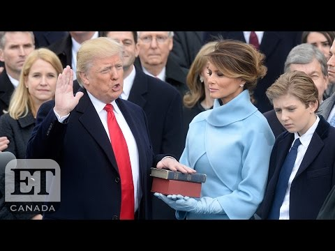 Awkward Trump Inauguration Moments: Michelle Obama Becomes A Meme