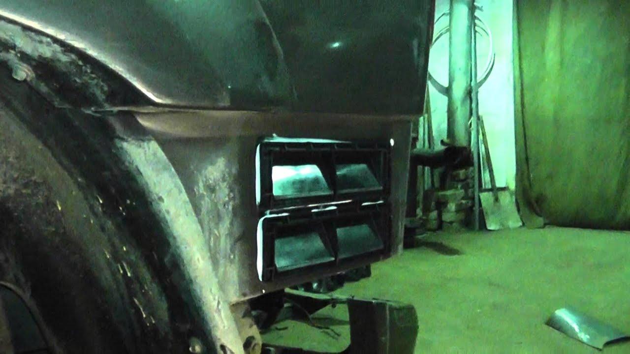 Клапан вентиляции салона УАЗ Патриот часть 1.