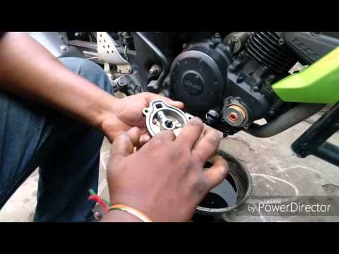 Fz-16 tuning,  oil filter change