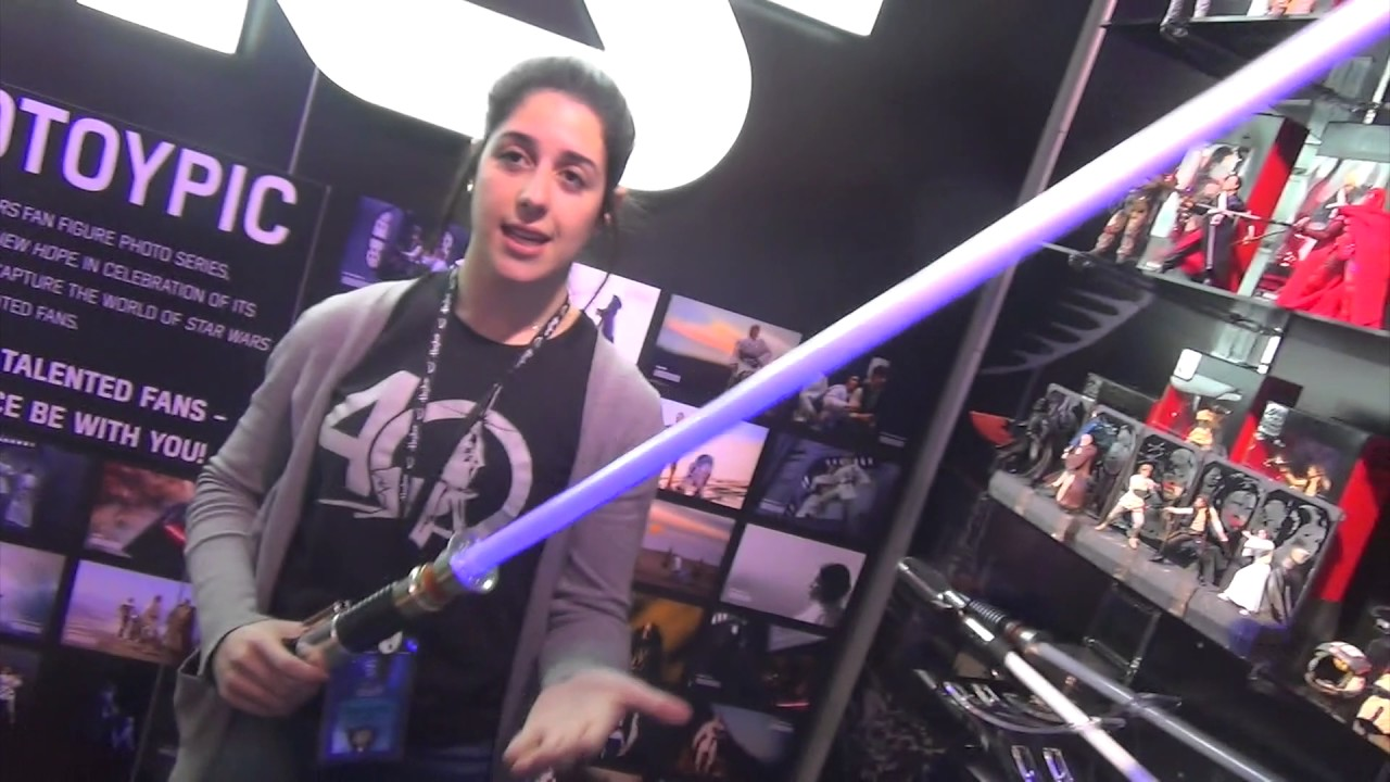 Obi-Wan Kenobi Star Wars Black Series FORCE FX Sabre Laser