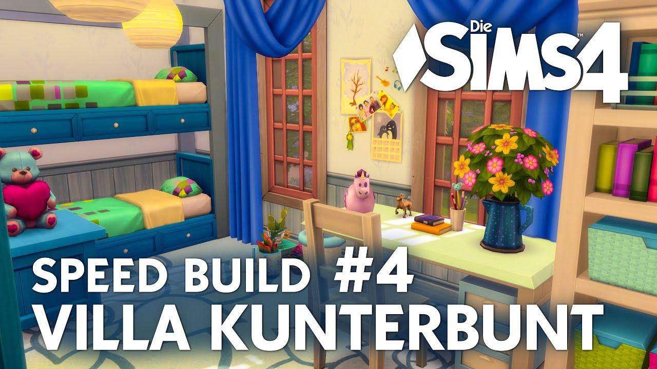 Die Sims 4 Villa Kunterbunt Speed Build #4 | Haus von Pippi ...