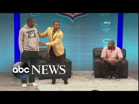 """Cris Carter - """"Fall Guy in Your Crew"""" Advice, Then Apology"""
