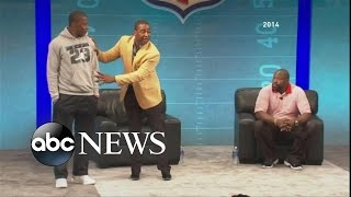 "Cris Carter - ""Fall Guy in Your Crew"" Advice, Then Apology"