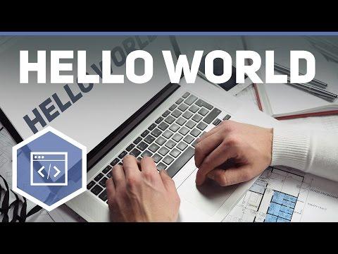 Hello World - Java Tutorial 2 Programm-Elemente Einstieg