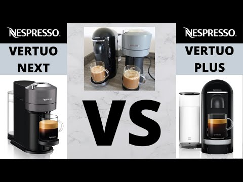 Nespresso Vertuo Plus VS Nespresso Vertuo Next Coffee Machine Review