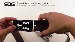 SOG Sync - Set up belt buckle