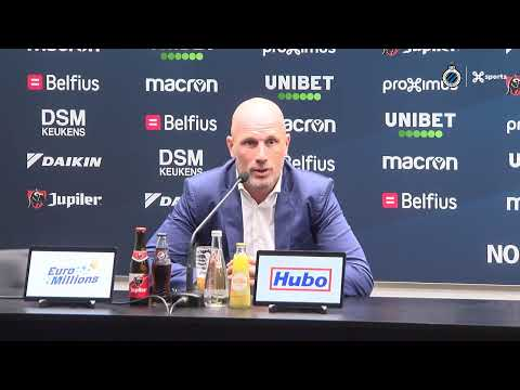 CLUB BRUGGE | DE PERSCONFERENTIE NA CLUB BRUGGE - KRC GENK | 2019-2020