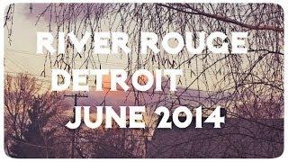 Жизнь в США: Поездка в Ривер Руж, недалеко от Детройт | VLOG June 7, 2014