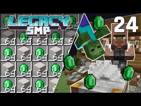 Villager Trading in the End - Legacy SMP #24 (Multiplayer Let's Play) | Minecraft 1.16