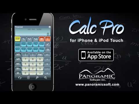 Calc Pro - The Top Selling Mobile Calculator for iPhone & iPod Touch