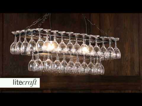 Wine Glass Chandelier | Litecraft - Lighting Your Home