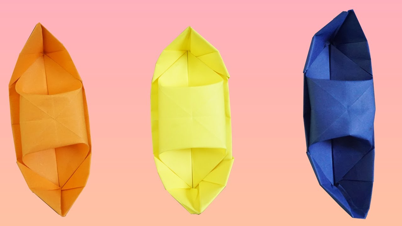 How to Make a Paper Boat   Origami Boat   Origami Step by Step Tutorial