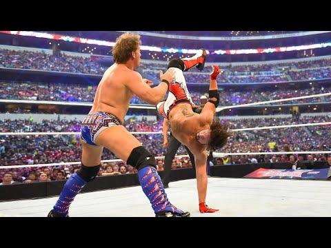 Download AJ Styles vs Chris Jericho Wrestlemania 32 Highlights HD