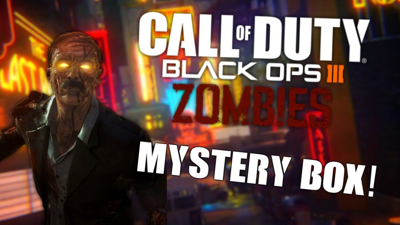 Fuse Box In Black Ops Zombies : Black ops zombies quot the mystery box youtube