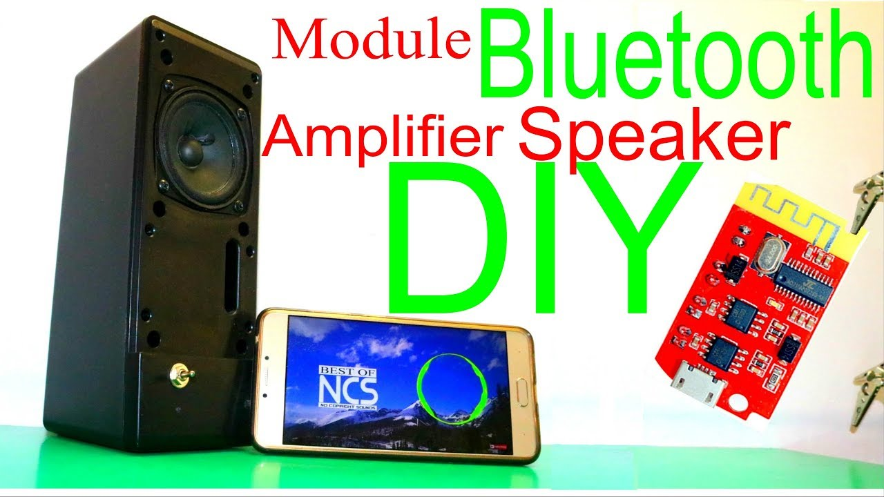 DIY Portable Bluetooth Speaker / Bring to LIFE or REVIVE Unusable BOX  SPEAKER CT14